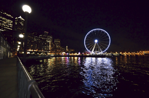 Digital Marketing, Seattle Ferris Wheel